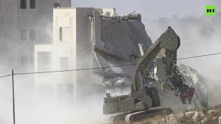 Israel destroys Palestinian east Jerusalem homes in Sur Baher