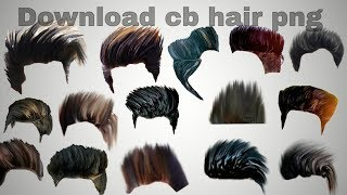 How to download CB editz hair png ...