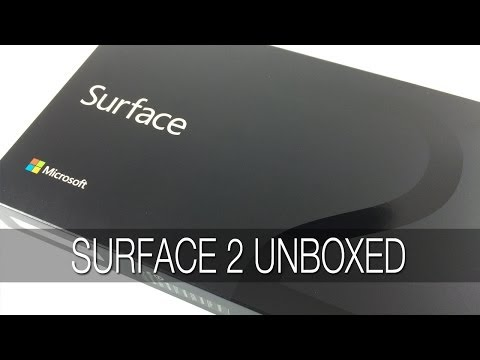 Unboxing of Microsoft Surface Pro 2