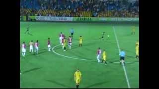 Відеофрагменти ПФК Олександрія - Арсенал (Б.Ц,) - 0-0