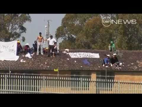 Villawood Protest Comes To A Head