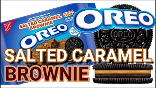 NEW! Oreo Salted Caramel Brownie LIMITED EDITION July 2021