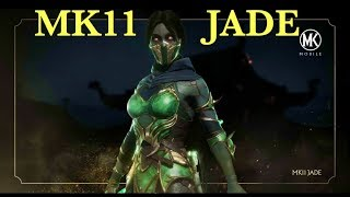 MK11 JADE First Review and Gameplay in Mortal Kombat Mobile