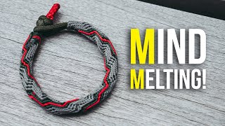 🤯This Bracelet Nearly Melted My Mind! | 🌪Vortex Paracord Bracelet TUTORIAL