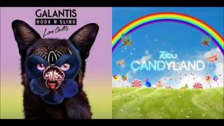 Love on Candyland (Mashup) - Galantis & Hook N Sling & Tobu