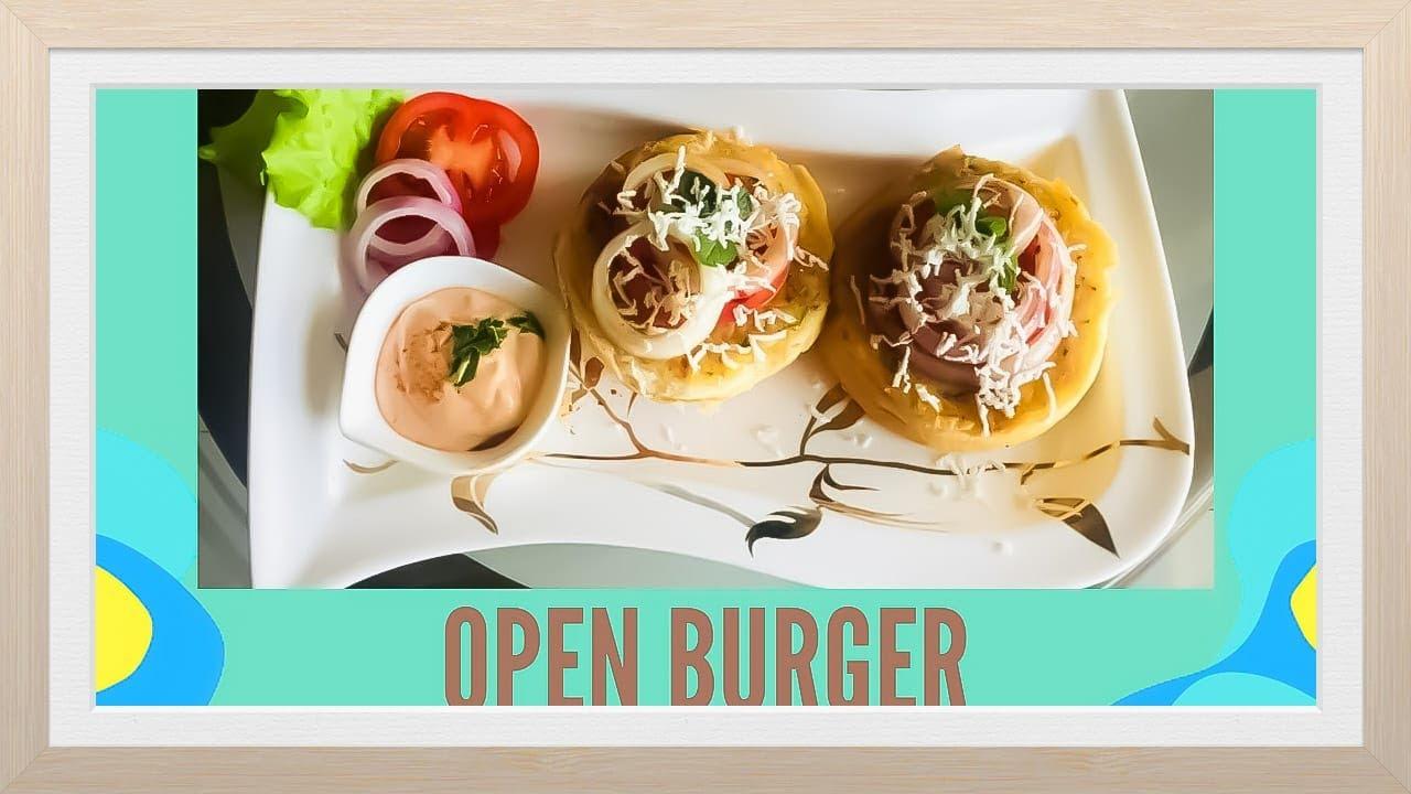 Open Burger Recipe Quick Easy And Healthy Unique Burger Recipes Youtube