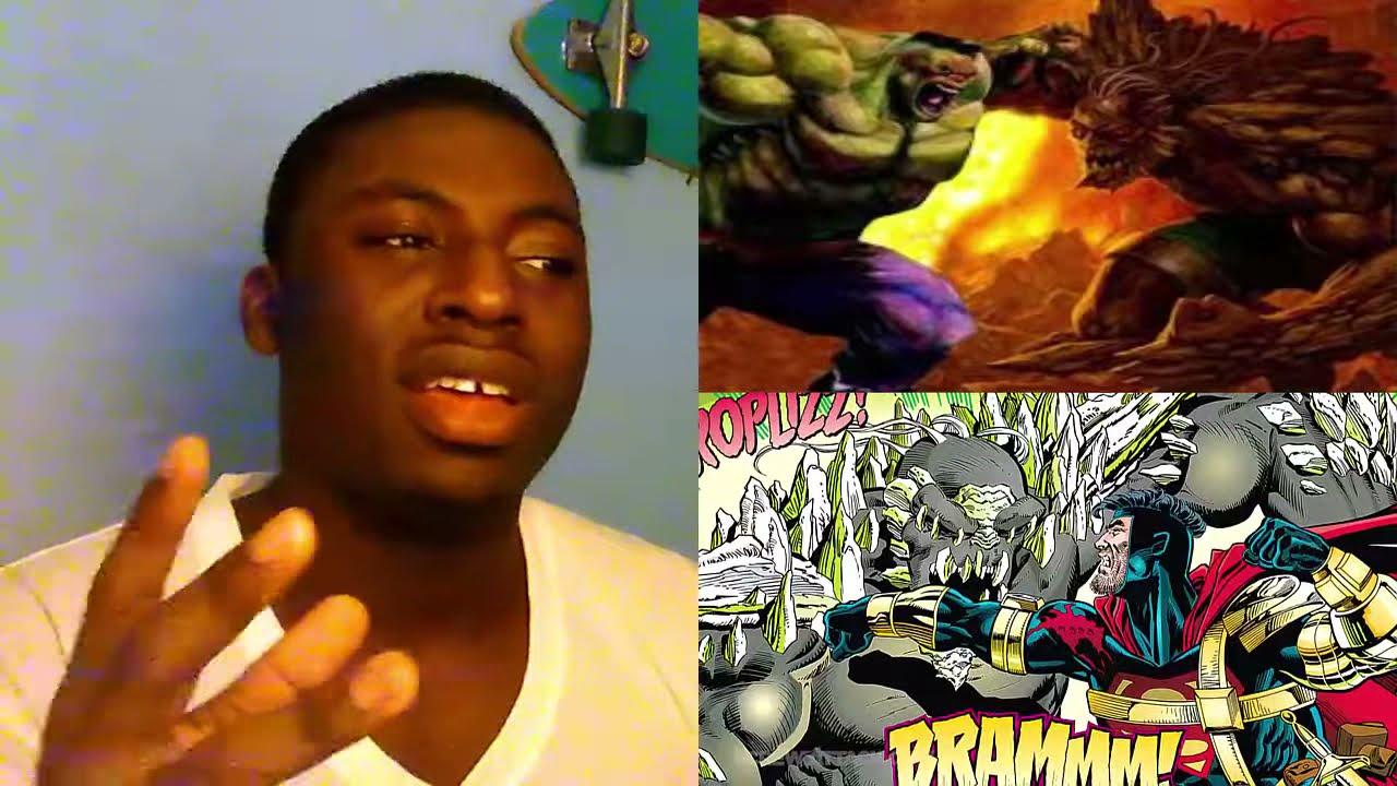 HULK VS DOOMSDAY DEATH BATTLE! MARVEL VS DC Reaction ... Doomsday Vs Hulk Death Battle Reaction