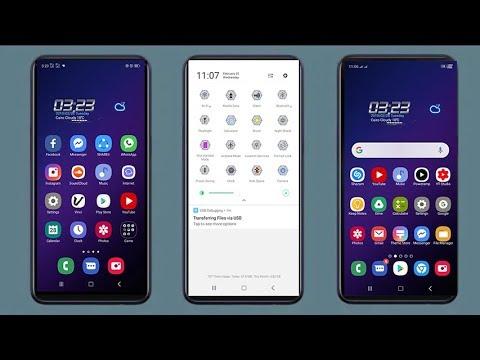 Samsung s10 one ui theme oppo f5 f7 f9 a3s a37 a83 a71 a57 f1 f1plus f1s f3  f3 plus realme