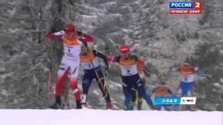 Анастасия Слонова. Лыжные гонки. Спринт. Универсиада 2015.