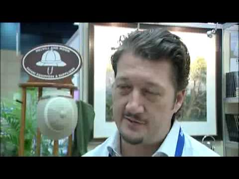 David Dunkley, Livingstone Supply Co, Sandton, SA @ INDABA 2010