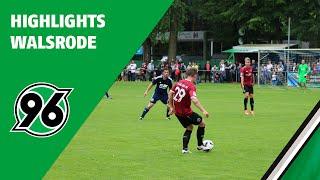 Highlights Testspiel | Germania Walsrode - Hannover 96