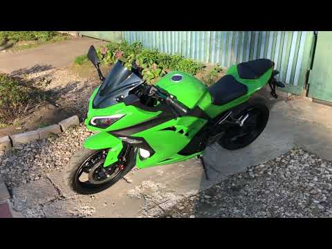 Электромотоцикл Kawasaki Ninja. 4000 Вт. Честный обзор владельца.