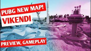 PUBG New Snow Map (Vikendi) Preview, Gameplay