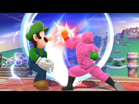 Top 10 Little Mac KO Punches #2 - Super Smash Bros for Wii U