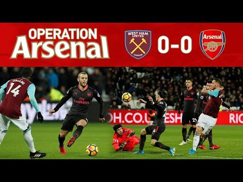 WEST HAM 0-0 ARSENAL - ANOTHER AWFUL RESULT!