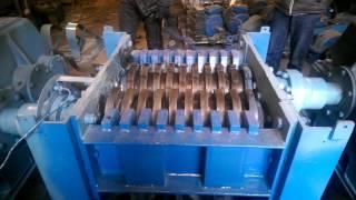 Дробилка, шредер для резины,шин отходов(, 2017-01-15T19:21:34.000Z)