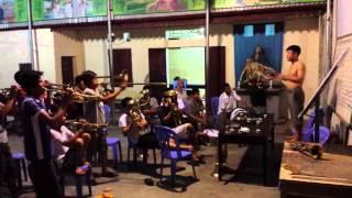 Đội kèn Phú Sơn (buổi tập)