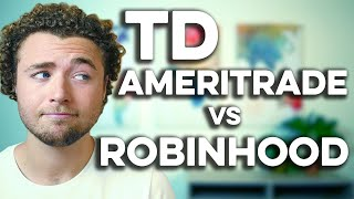 Robinhood vs TD Ameritrade - What You Need to Know!