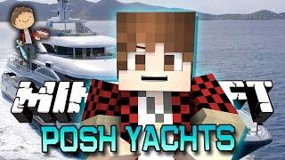 Minecraft: POSH YACHTS! w/Mitch, Jerome and Ryan! (Dragons Mini-Game!)