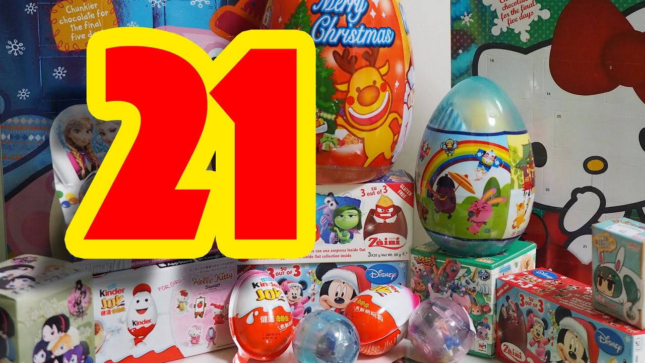 Day 21 ADVENT CALENDAR 2015 for Kids // Kids Toy TV - YouTube
