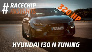 Hyundai i30 N Performance tuning to 320 HP: Dyno, downpipe and sound