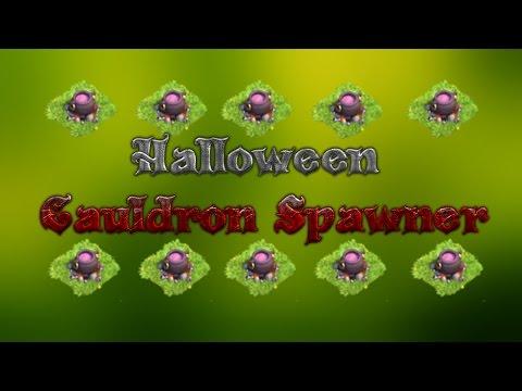 Clash Of Clans - Halloween Cauldron Spawner Base!