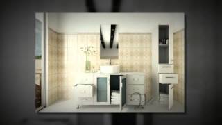 47.25 Grand Lune White Single Vessel Sink Modern Bathroom Vanity Cabinet