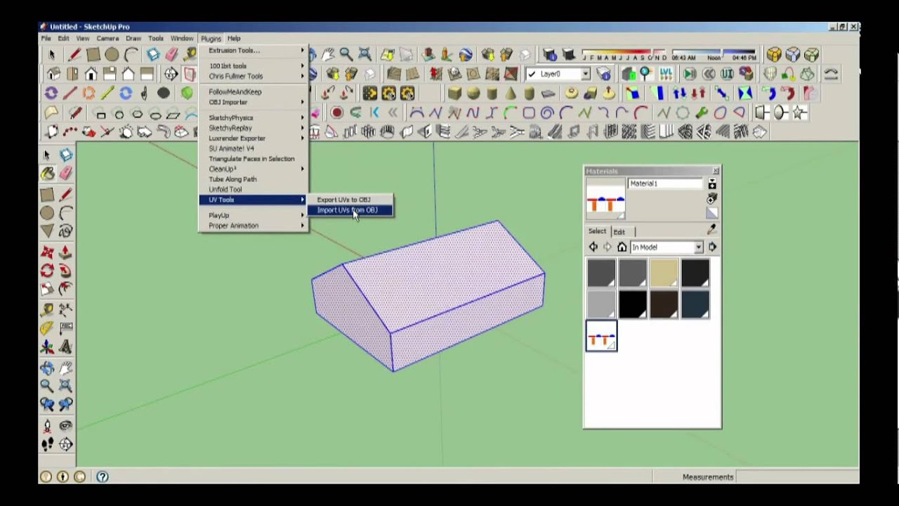 uv mapping in sketchup to sandbox 2 youtube. Black Bedroom Furniture Sets. Home Design Ideas