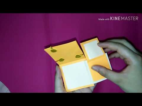 Secret message card/diy craft