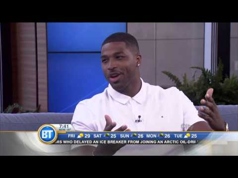 Canadian NBA star Tristan Thompson is back in Toronto