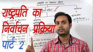 राष्ट्रपति का निर्वाचन प्रक्रिया पार्ट - 2|| mukesh sir