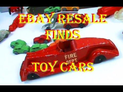 Ebay Resale Vintage Toy Car & Truck Haul: Barclay, Auburn, Acme, Keystone