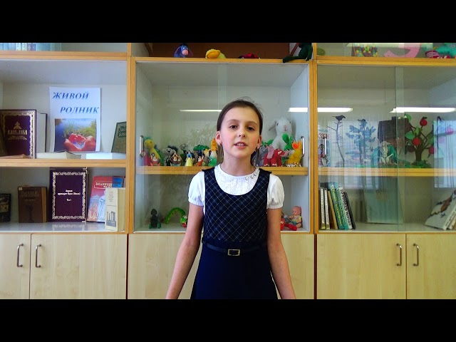 Изображение предпросмотра прочтения – УльянаПолянская читает произведение «Рождество» А.А.Блока