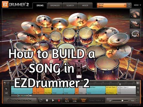 Amner Hunter - Building a song in EZ Drummer 2 Tutorial