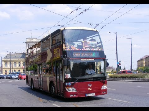 Big Bus Budapest City Tour. Red Route part 1.