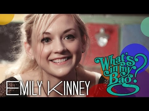 Emily Kinney  Whats In My Bag?