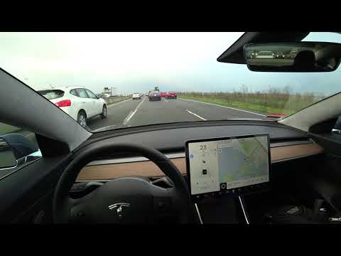 Tesla Model 3 Commute to Work