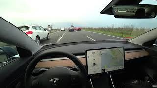 Tesla Model 3 Commute to Work