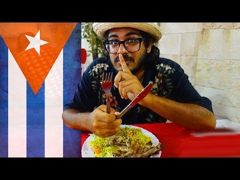 SECRET RESTAURANT IN HAVANA! - Havana Cuba Vlog 🇨🇺
