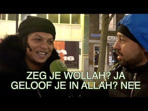 NIET MOSLIMS DIE WOLLAH ZEGGEN