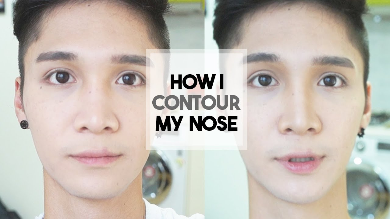 How I Contour My Filipino Nose  Edward Avila