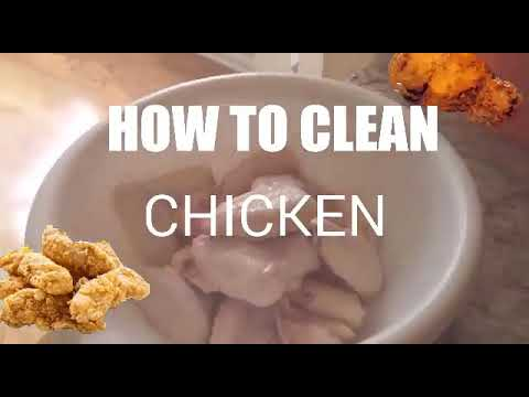 DIY How to Clean Chicken Wings