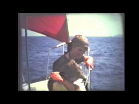 Sailing in the Ionia Sea, Greece, 1977