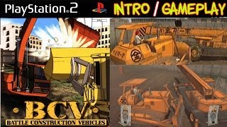 BCV: Battle Construction Vehicles Intro & Gameplay PS2 HD