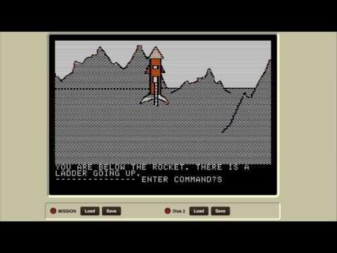 Mission Asteroid, part 2 (Sierra's Hi-Res Adventure #0, 1980)