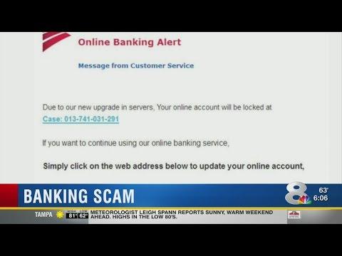 Online Banking Scam