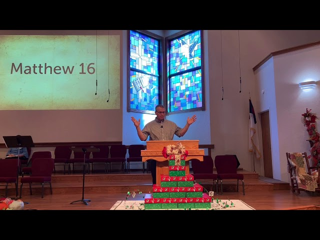 Matthew 16    Harold Johnson, Pastor