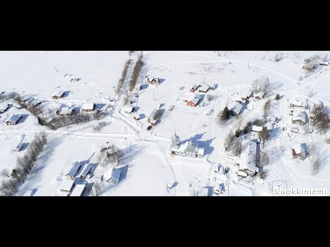 Вокнаволок, Суднозеро, Войница, Калевала зимой