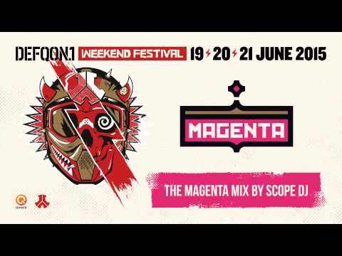 The colors of Defqon.1 2015 | MAGENTA mix by Scope DJ