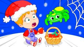 Новый эпизод! Итси Битси Паук с Грувым Марсианом на Рождество : Мультфильмы и песни